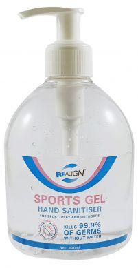Sports Gel Hand Sanitiser 500ml